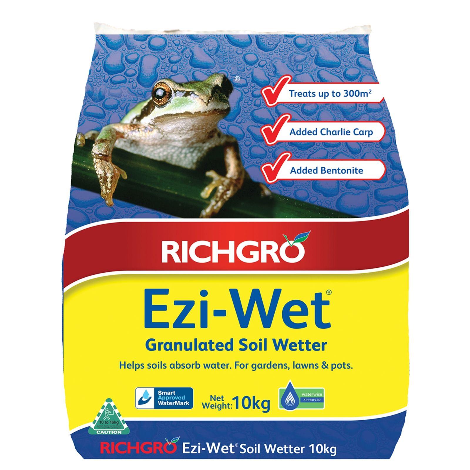 Richgro 10kg EziWet Granulated Soil Wetter Bunnings