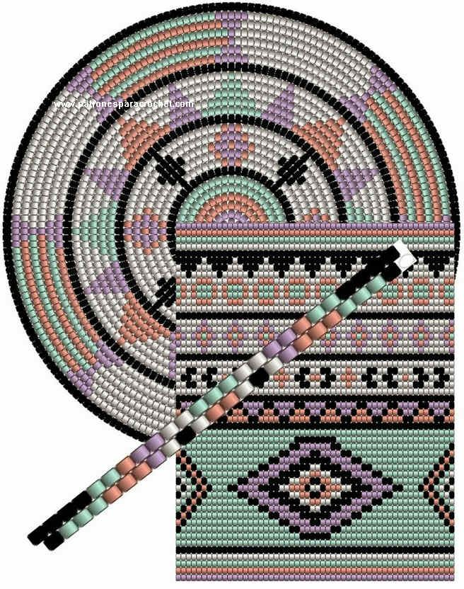 Tapestry Patrones de Crochet bolso Patrones Crochet 3 de Bolsos dtfwFqF