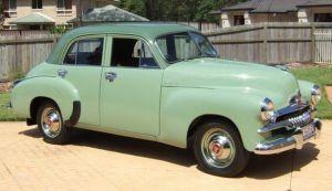 1955 Holden FJ 225 Special Sedan, Made in Melbourne, Australia By General Motors Holden.  v@e.