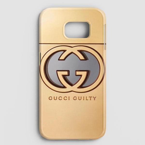 08002109a19 Gold Gucci Samsung Galaxy S7 Edge Case
