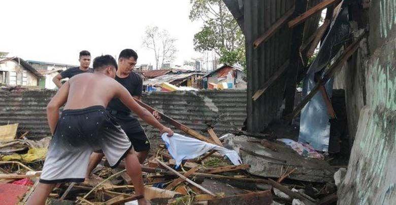 El tifón Phanfone golpea Filipinas y deja al menos 15 muertos a su paso (con imágenes
