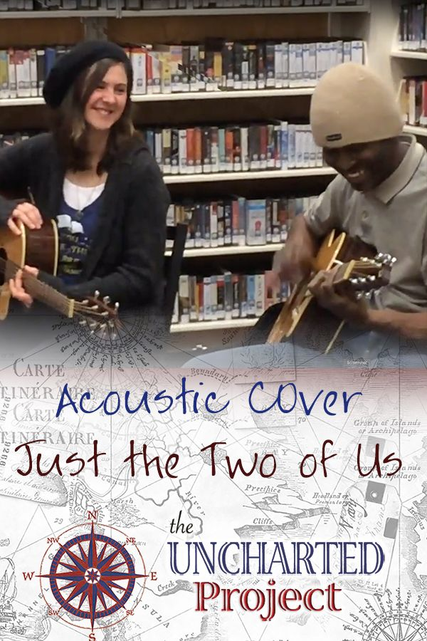 Acoustic Cover of Just the Two of Us at a library concert