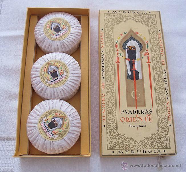 Caja jabones maderas de oriente myrurgia antigua foto 1 cajas jabon pinterest antigua - Cajas madera barcelona ...