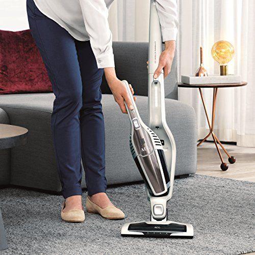 Aeg Cx7 45ani Animal Cordless 2 In 1 Pet Vacuum Cleaner Pearl White