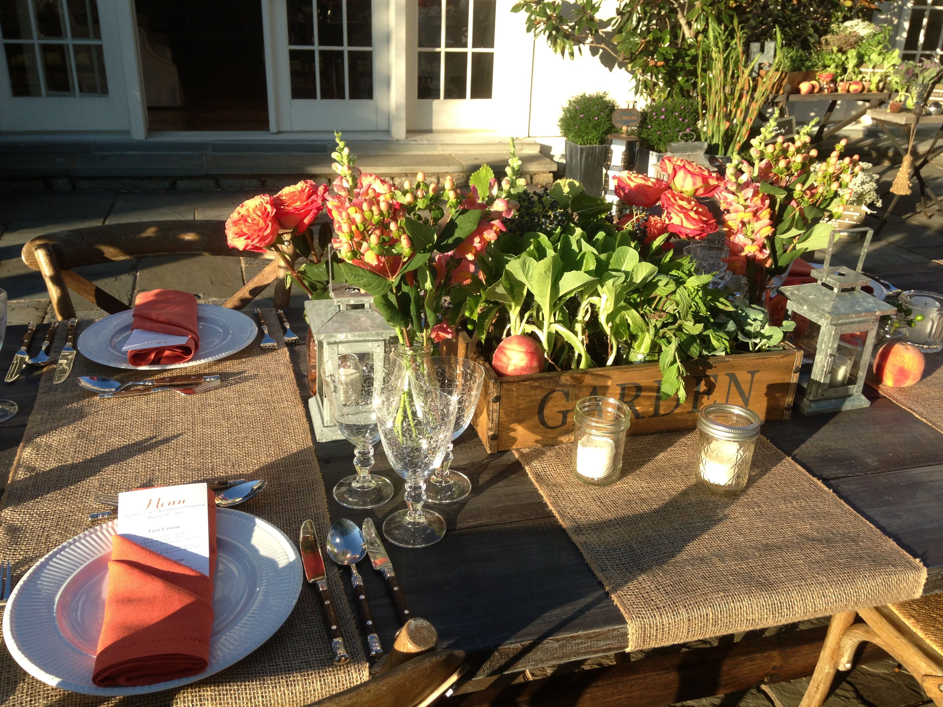 Join Us For An Outdoor Farm To Table Dinner Party