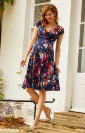 7382b7f8658 Alessandra Maternity Dress Short Midnight Garden