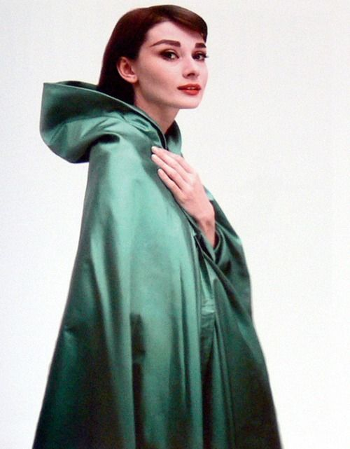 Model Natalie wears a coat by Madame Gres, 1950. Photo by Louise Dahl-Wolfe.