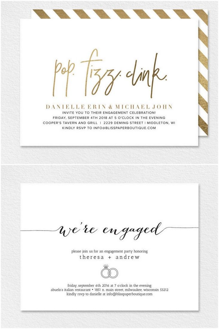 22 Engagement Party Invites To Say Yes To Funny Engagement