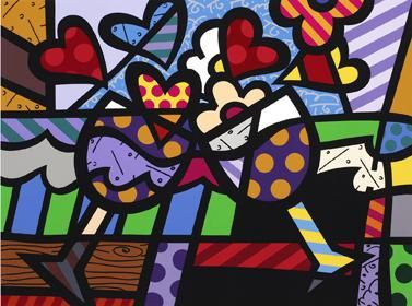 Romero Britto Art Exhibit at the Louvre Museum, Paris | Parks, The ...