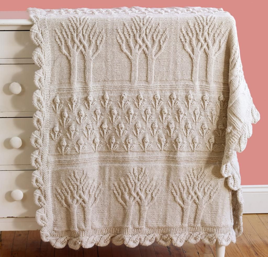 Tree of Life Afghan Knitting Kit | Pinterest | Stricken