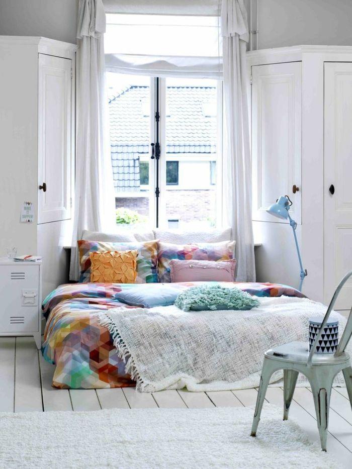 weißer kleiderschrank eckkleiderschrank schlafzimmer weiße - schlafzimmer mit eckschrank