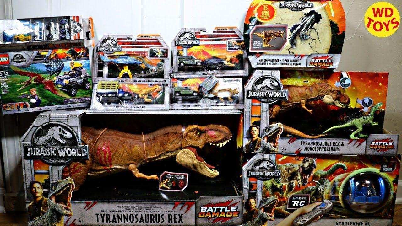 New Jurassic World Fallen Kingdom Toys Walmart Battle