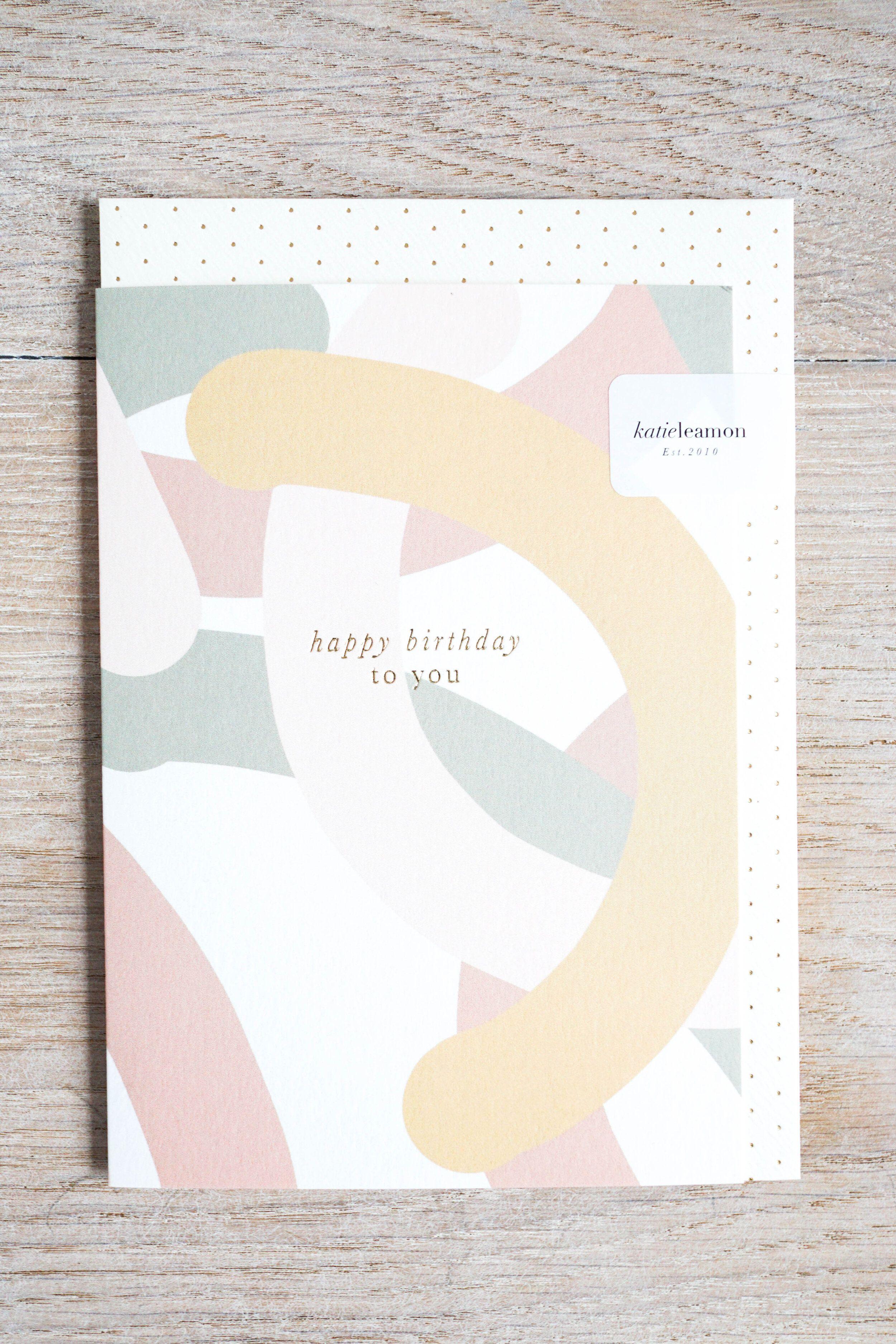 Mallow Birthday Card Aume Homeware Glasgow Luxury Birthday Cards Birthday Cards Luxury Birthday