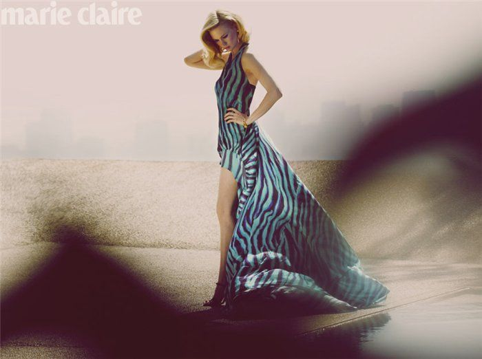 January Jones for Marie Claire #JanuaryJones #MarieClaire