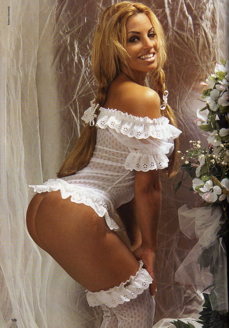 Trish stratus nude in the shower
