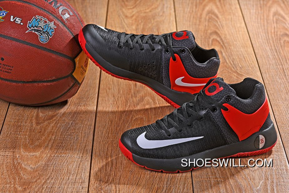 2ddd463f698d 623  KD TREY 5 Iv BLACK RED WHITE SWOOSH Copuon