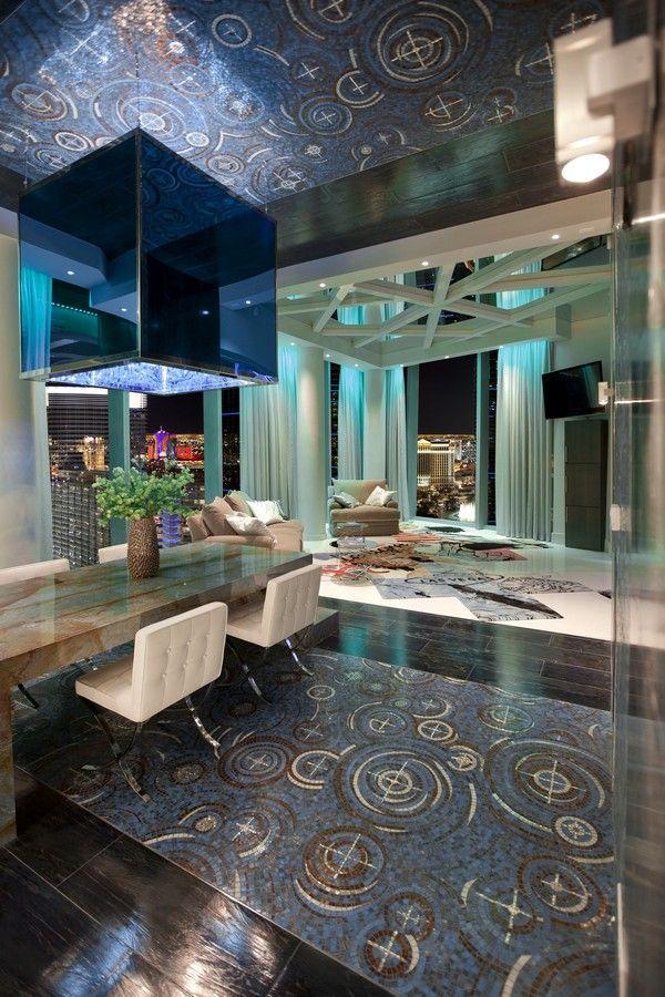 Extravagant Penthouse design in Las Vegas | las vegas penthouse for ...