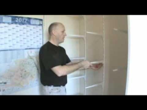 Porte coulissante - comment faire un placard avec porte coulissante - fabriquer un placard avec porte coulissante