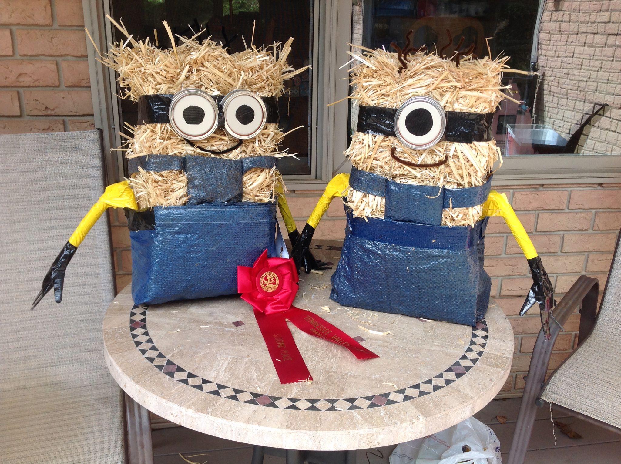 Minion Scarecrows Easy To Make
