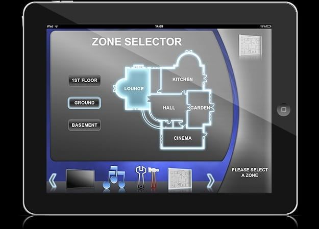 control your whole home with our systems demopad homeautomation rh pinterest com