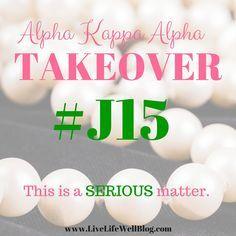 Alpha Kappa Alpha Takeover - LiveLifeWell