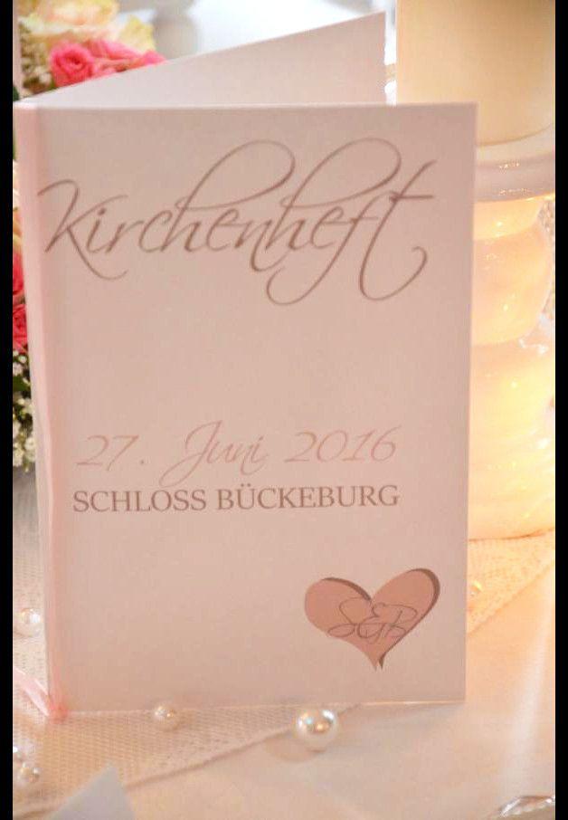Wunderschöner Kirchenheft Umschlag Zur Hochzeit Mit