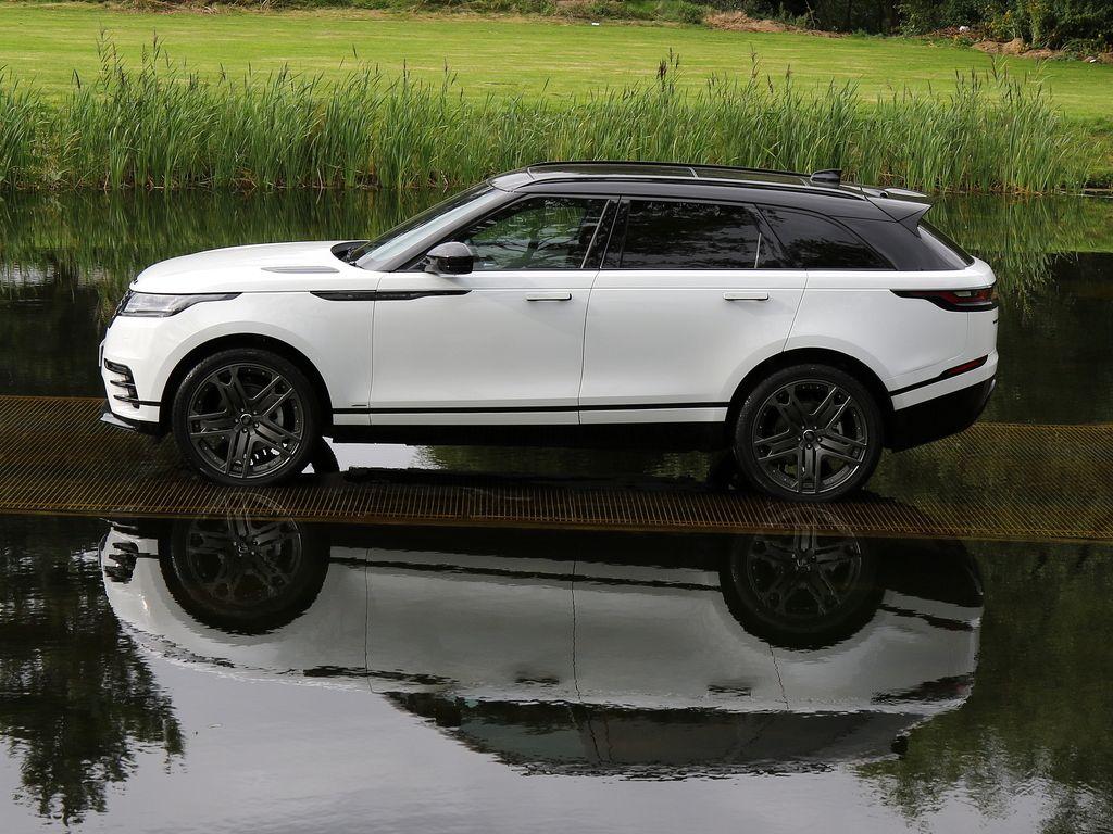 2017 Land Rover Range Rover Velar Fuji White With Light Oyster Leather And Ebony Suedecloth Range Rover Range Rover White Range Rover Sport