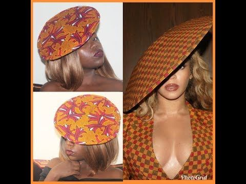 HOW TO MAKE A CIRCULAR FASCINATOR/ HAT DIY / BEYONCE INSPIRED TUTORIAL