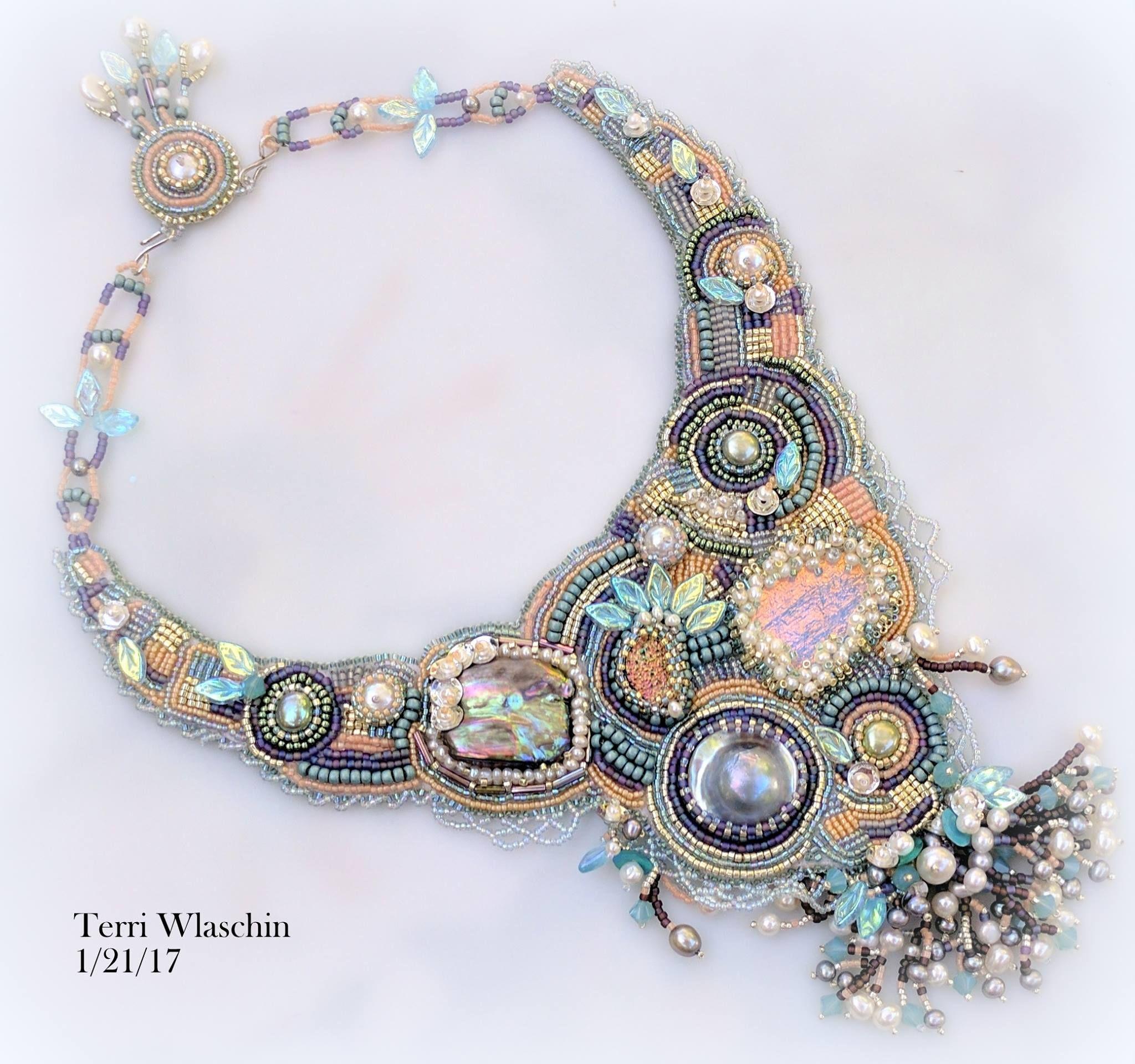 99b926cd94c Mermaid s tale of glory. Handmade Beaded Jewelry