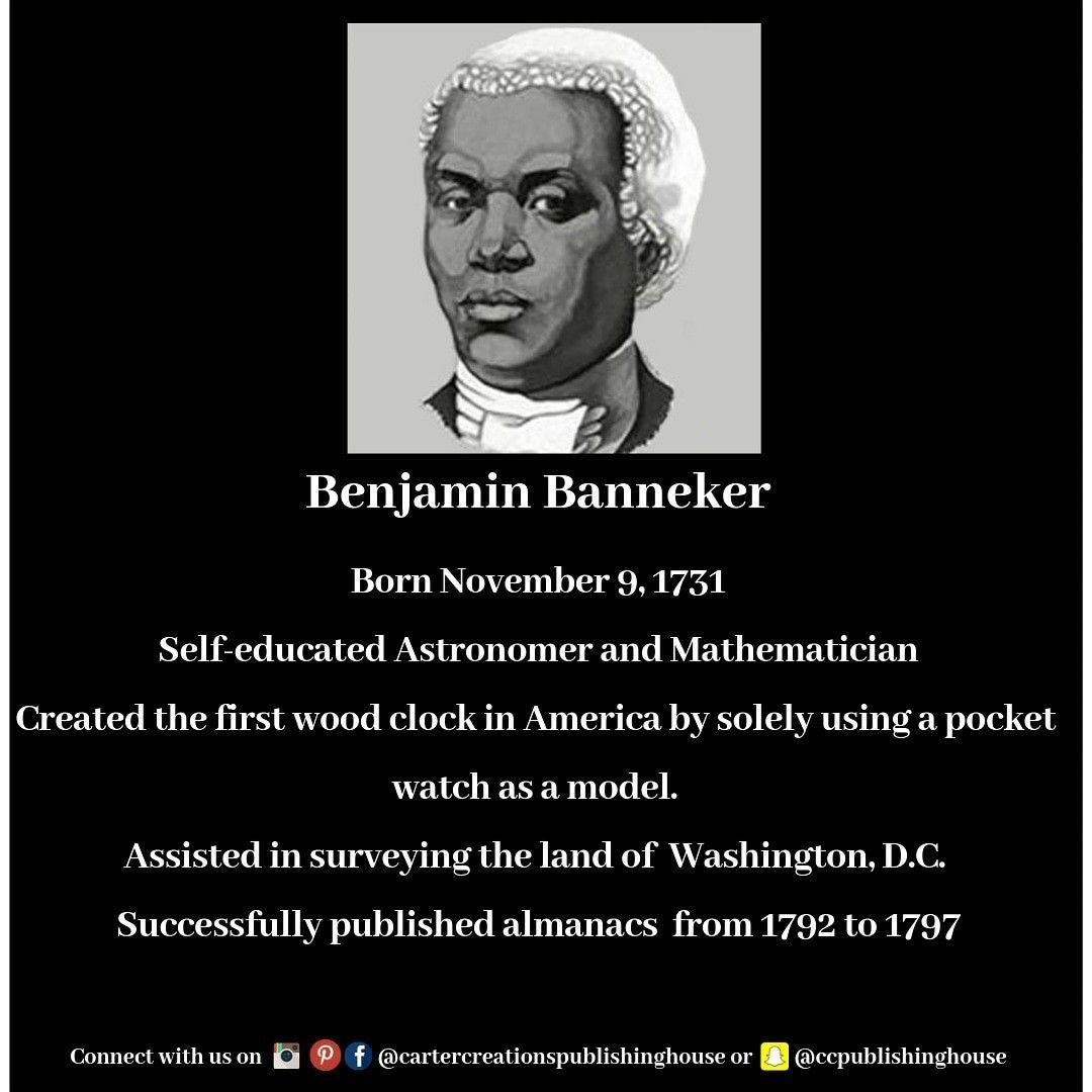 Benjamin Banneker Black History Facts Black Fact Black History