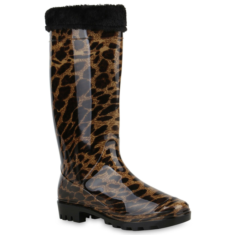 Modische Gummistiefel Schuhe 819897 Trendy Damen Stiefel ZPTOuwkXil