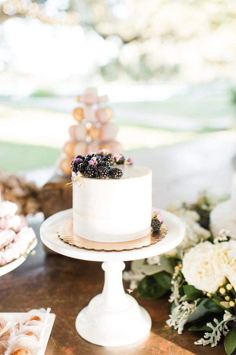 This Houston Wedding Had a Texas-Sized Dessert Table | White wedding ...