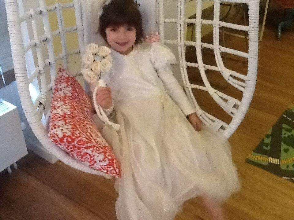 Trouwjurk voor een klein meisje