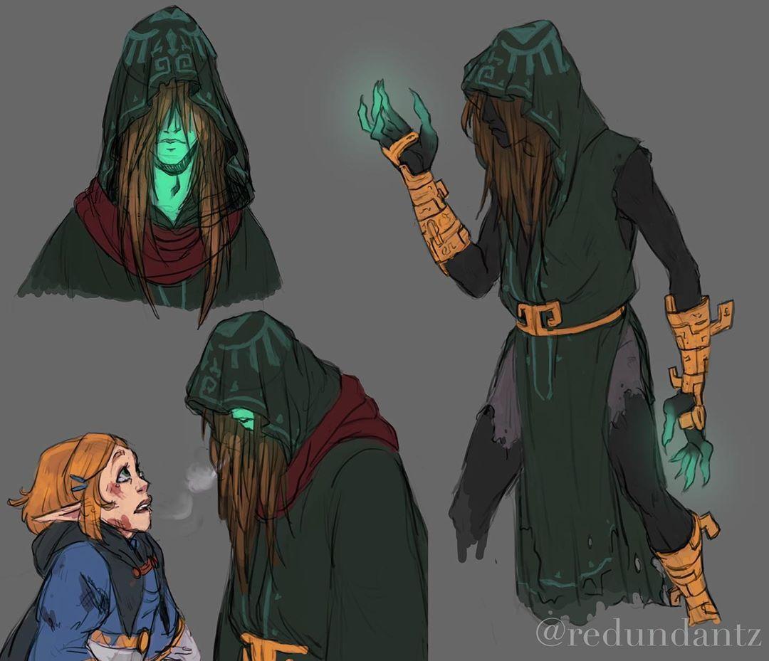 Legend Of Zelda Breath Of The Wild Sequel Inspired Concept