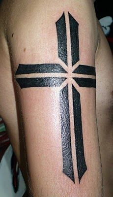 dc65c1123 Most Beautiful and Cool 25 Cross Tattoos for Men | Tattoo ideas