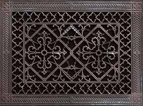 Arts And Crafts Grille Rr 209 10 14 Decorative Grilles Decorative Vent Cover Decorative Grills