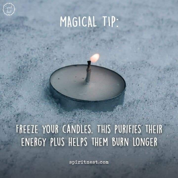 Candle Magick Tip #candlemagick