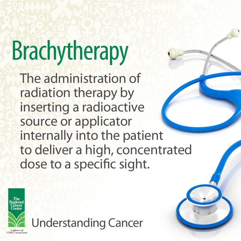 Brachytherapy The Administration Of Radiation Therapy By Inserting