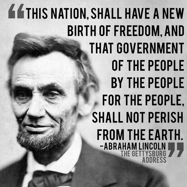 Abraham Lincoln Famous Quotes: November 19th, Conservative Politics And