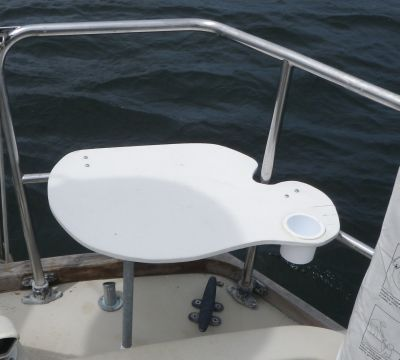 How to Build a Stern Rail Seat for Your Boat in 2019 | Sailing