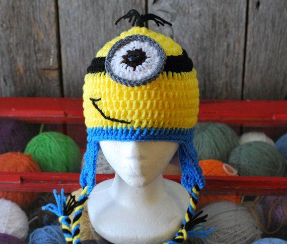 Best 25 Crochet Minion Hats Ideas On Pinterest Minion