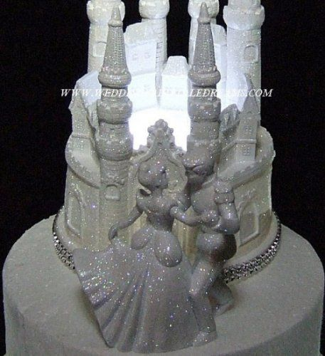 lighted cinderella castle wedding cake topper lighted cinderella castle wedding cake topper wedding 16859