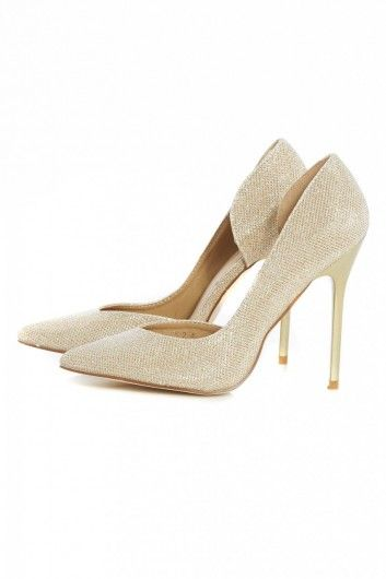MILLIE - Nude Patent Open Toe Block Heel With Ankle Strap