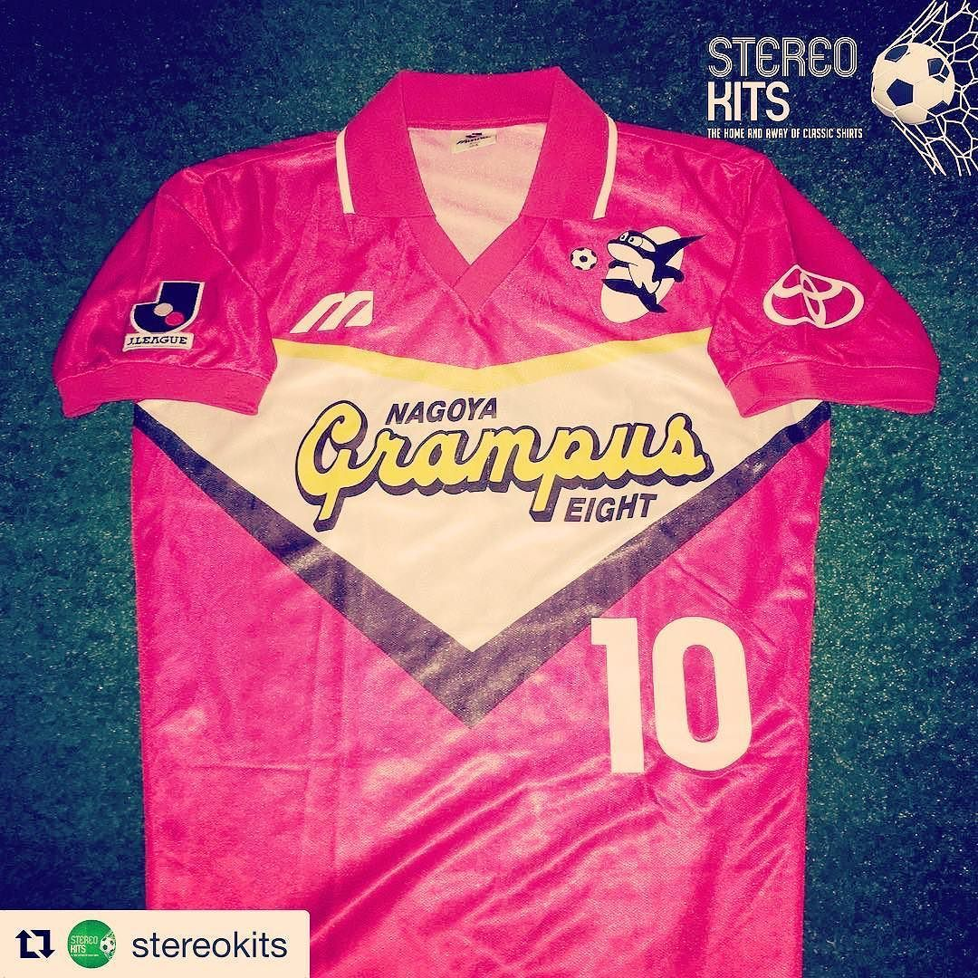 c5872bda20b Vintage Grampus Eight shirt from  stereokits  japan  grampuseight   footballshirtcollective