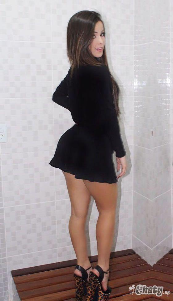 Culos en minifaldas