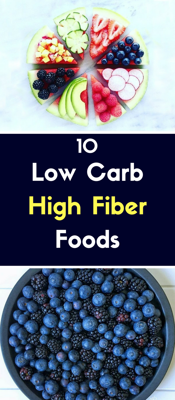 10 Low Carb High Fiber Foods Foods that are low in