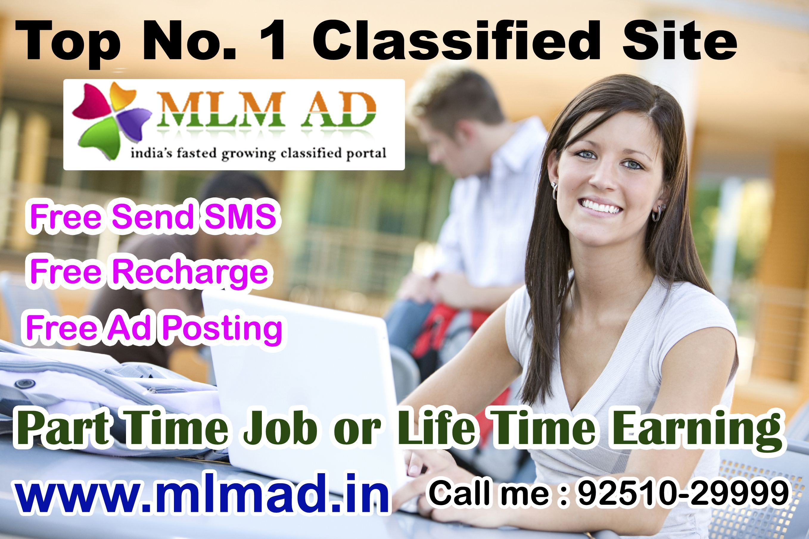 Post free mlm classified ads in India and worldwide for Jobs