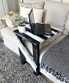 make a sofa c table easily rh pinterest com