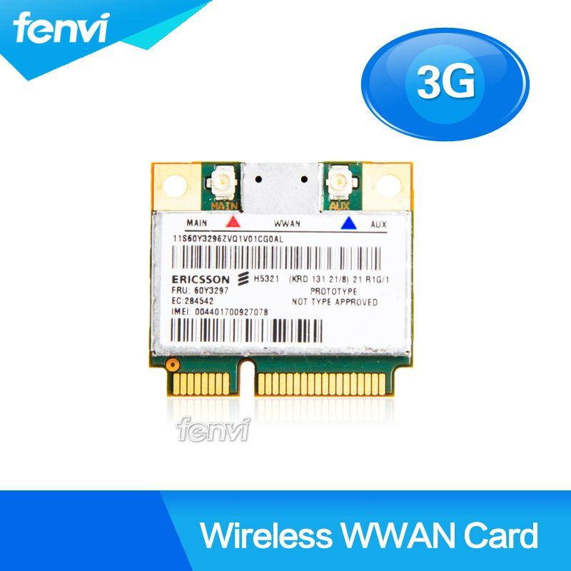 Ericsson H5321GW Wireless 3G WWAN Card For IBM Thinkpad T430
