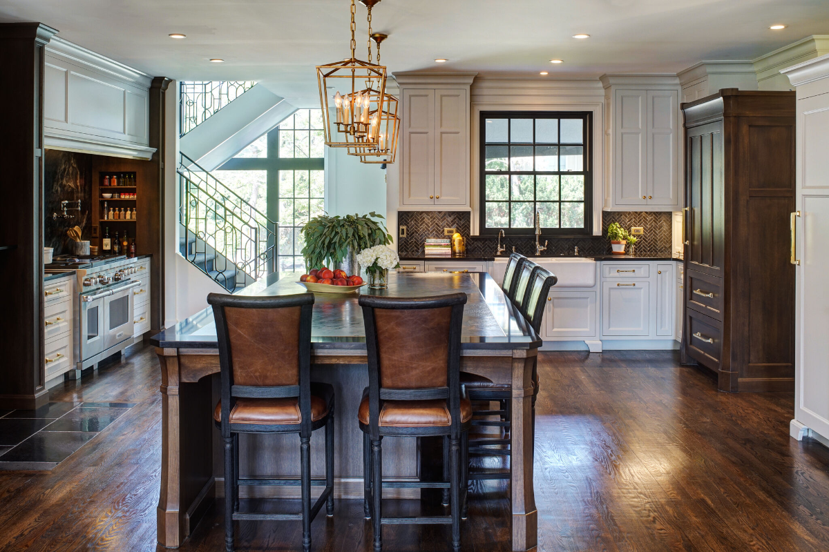 Painted Cabinets vs Stained Cabinets   Luxury kitchen ...